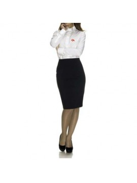 Airhostess uniform shirt and skirt